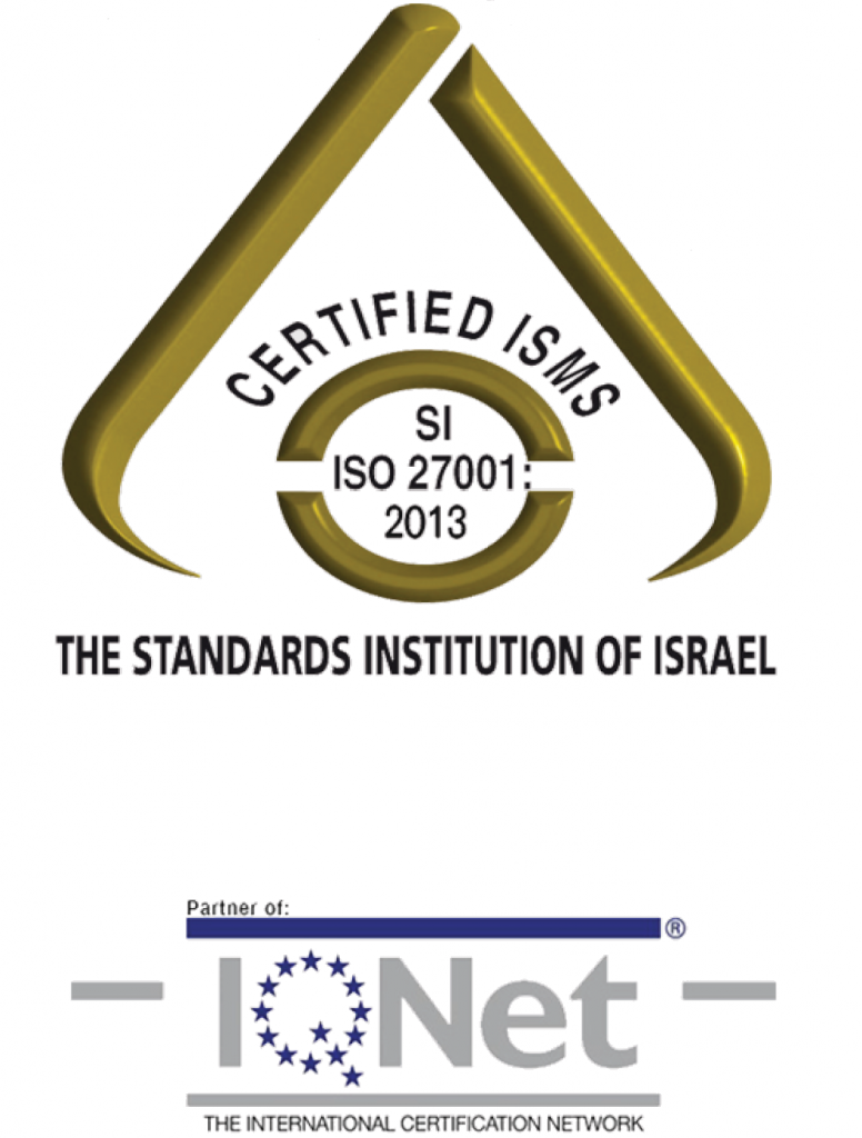 ISO/IEC 27001:2013 + IQNet (for ISO 27799:2016)